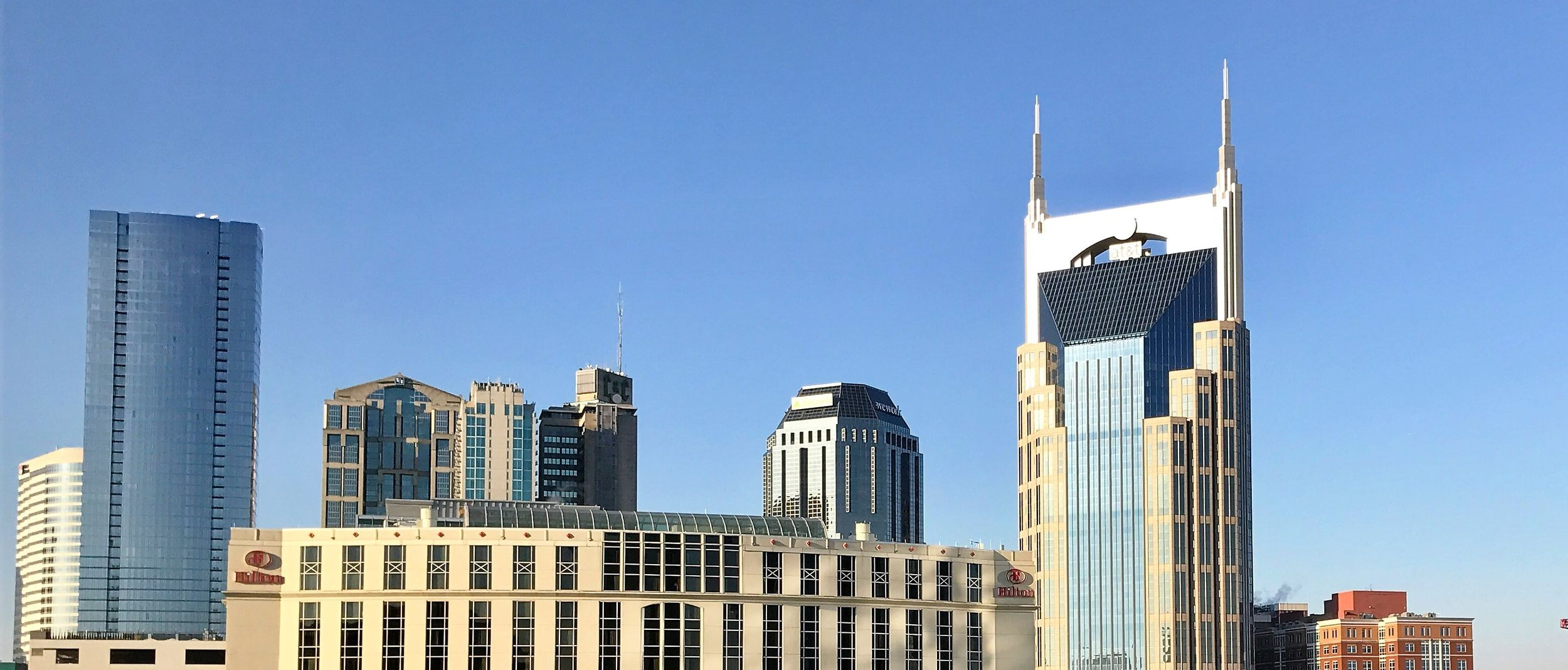 Nashville Skyline Background Photo